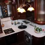 кухни для хрущевки угловые фото - 6 м - фото варианты 23012016 1