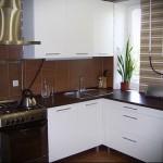 кухня хрущевка колонка фото - 6 м - фото варианты 23012016 4