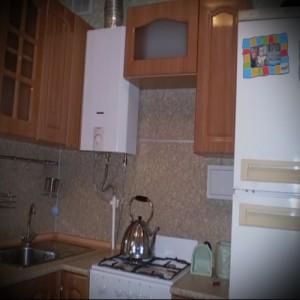 кухня хрущевка колонка фото - 6 м - фото варианты 23012016 5