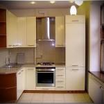 современная кухня в хрущевке фото - 6 м - фото варианты 23012016 3