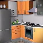 современная кухня в хрущевке фото - 6 м - фото варианты 23012016 5