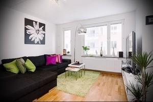 современный дизайн маленькой квартиры - фото от 23012016 1