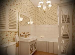 ванна в стиле прованс фото интерьер - пример от 27020216 2