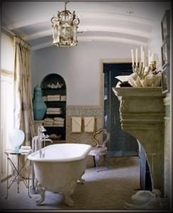 ванна в стиле прованс фото интерьер - пример от 27020216 3