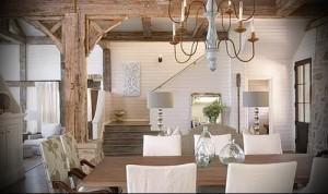 гостиная в стиле прованс фото интерьер - пример от 27020216 1