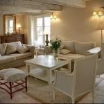 гостиная в стиле прованс фото интерьер - пример от 27020216 2
