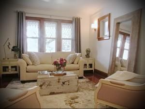 гостиная в стиле прованс фото интерьер - пример от 27020216 4