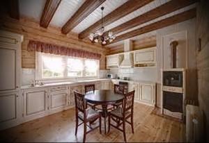 интерьер деревянного дома в стиле прованс фото - пример от 27020216 1