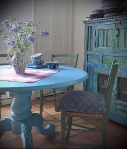 интерьер деревянного дома в стиле прованс фото - пример от 27020216 3