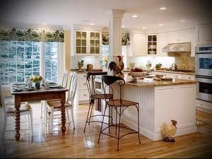 маленькая кухня в стиле прованс фото интерьер - пример от 27020216 1
