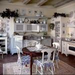маленькая кухня в стиле прованс фото интерьер - пример от 27020216 2