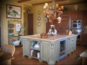 маленькая кухня в стиле прованс фото интерьер - пример от 27020216 3