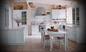 маленькая кухня в стиле прованс фото интерьер - пример от 27020216 4