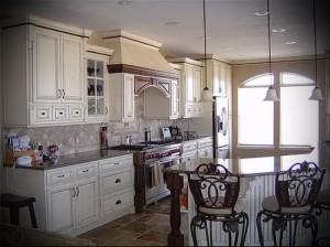 маленькая кухня в стиле прованс фото интерьер - пример от 27020216 5