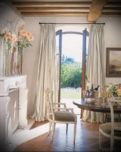 шторы в стиле прованс фото интерьер - пример от 27020216 3