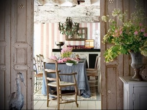 Provence style in the interior of country house photo 1