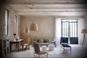 Provence style in the interior of country house photo 2