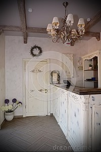 hall-style picture Provence interior 1