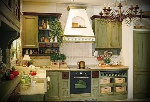 interiors in the style of Provence and country pictures 1