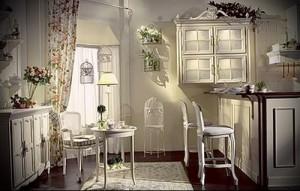 kitchen in style Provence interior photo 1
