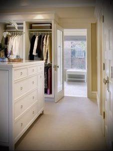 гардеробная в прихожей дизайн фото - интересный пример от 07052016 2
