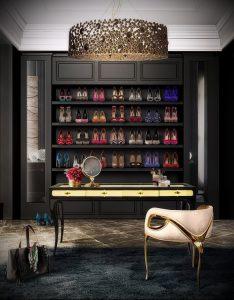 гардеробные комнаты дизайн проекты фото - интересный пример от 07052016 2