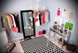 гардеробные комнаты дизайн проекты фото маленькие - интересный пример от 07052016 1