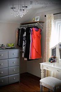 гардеробные комнаты дизайн проекты фото маленькие - интересный пример от 07052016 3