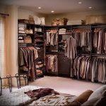 дизайн спальни с гардеробной комнатой фото - интересный пример от 07052016 2