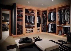 дизайн спальни с гардеробной комнатой фото - интересный пример от 07052016 3