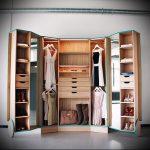 мини гардеробные комнаты дизайн проекты фото - интересный пример от 07052016 1