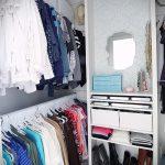мини гардеробные комнаты дизайн проекты фото - интересный пример от 07052016 3