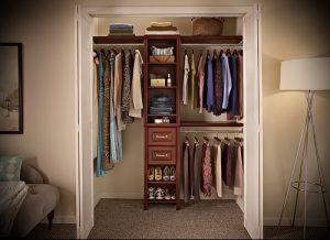 einen begehbaren Kleiderschrank im Flur Fotodesign - ein interessantes Beispiel für 07052016 1