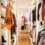 einen begehbaren Kleiderschrank im Flur Fotodesign - ein interessantes Beispiel für 07052016 2