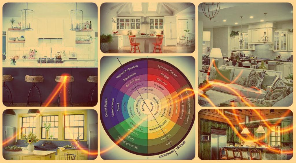 Акценты в интерьере кухни - фото примеры
