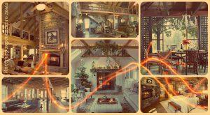 Интерьер деревенского дома - фото примеры оригинальных вариантов