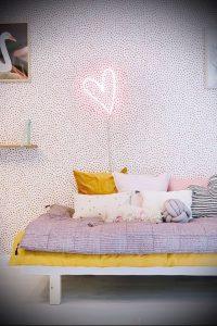 Интерьер детской комнаты для девочки - фото пример 001