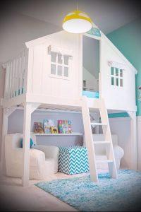 Интерьер детской комнаты для девочки - фото пример 002
