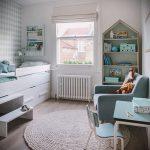 Интерьер детской комнаты для девочки - фото пример 003