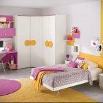 Интерьер детской комнаты для девочки - фото пример 005