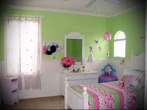 Интерьер детской комнаты для девочки - фото пример 006