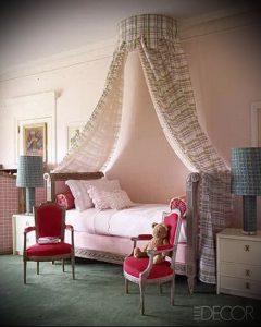 Интерьер детской комнаты для девочки - фото пример 008