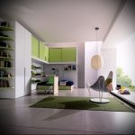 Интерьер детской комнаты для девочки - фото пример 009