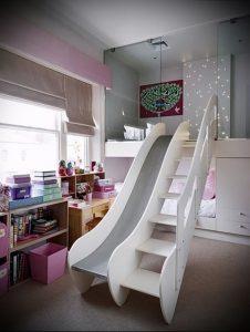 Интерьер детской комнаты для девочки - фото пример 010
