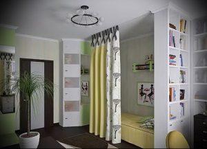 Интерьер детской комнаты для девочки - фото пример 011