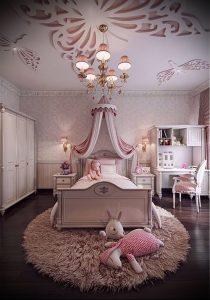 Интерьер детской комнаты для девочки - фото пример 013