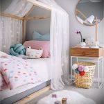 Интерьер детской комнаты для девочки - фото пример 015
