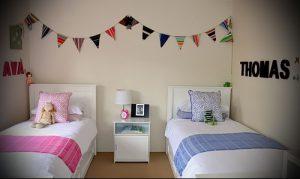 Интерьер детской комнаты для девочки - фото пример 018