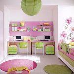 Интерьер детской комнаты для девочки - фото пример 019