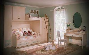 Интерьер детской комнаты для девочки - фото пример 020